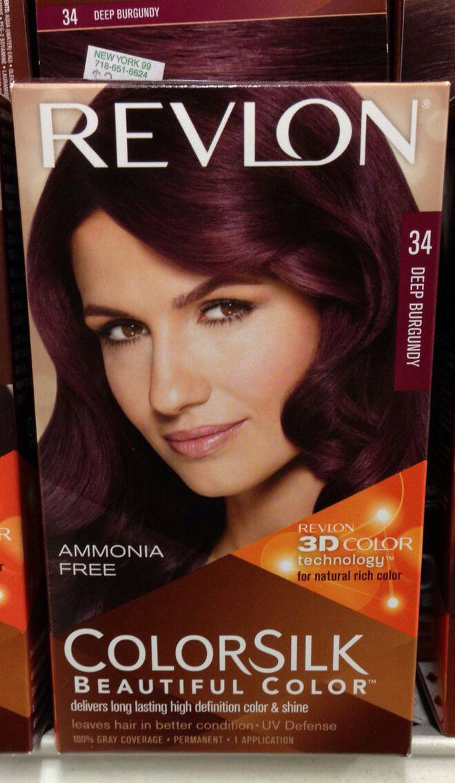 Revlon Hair Color Instructions