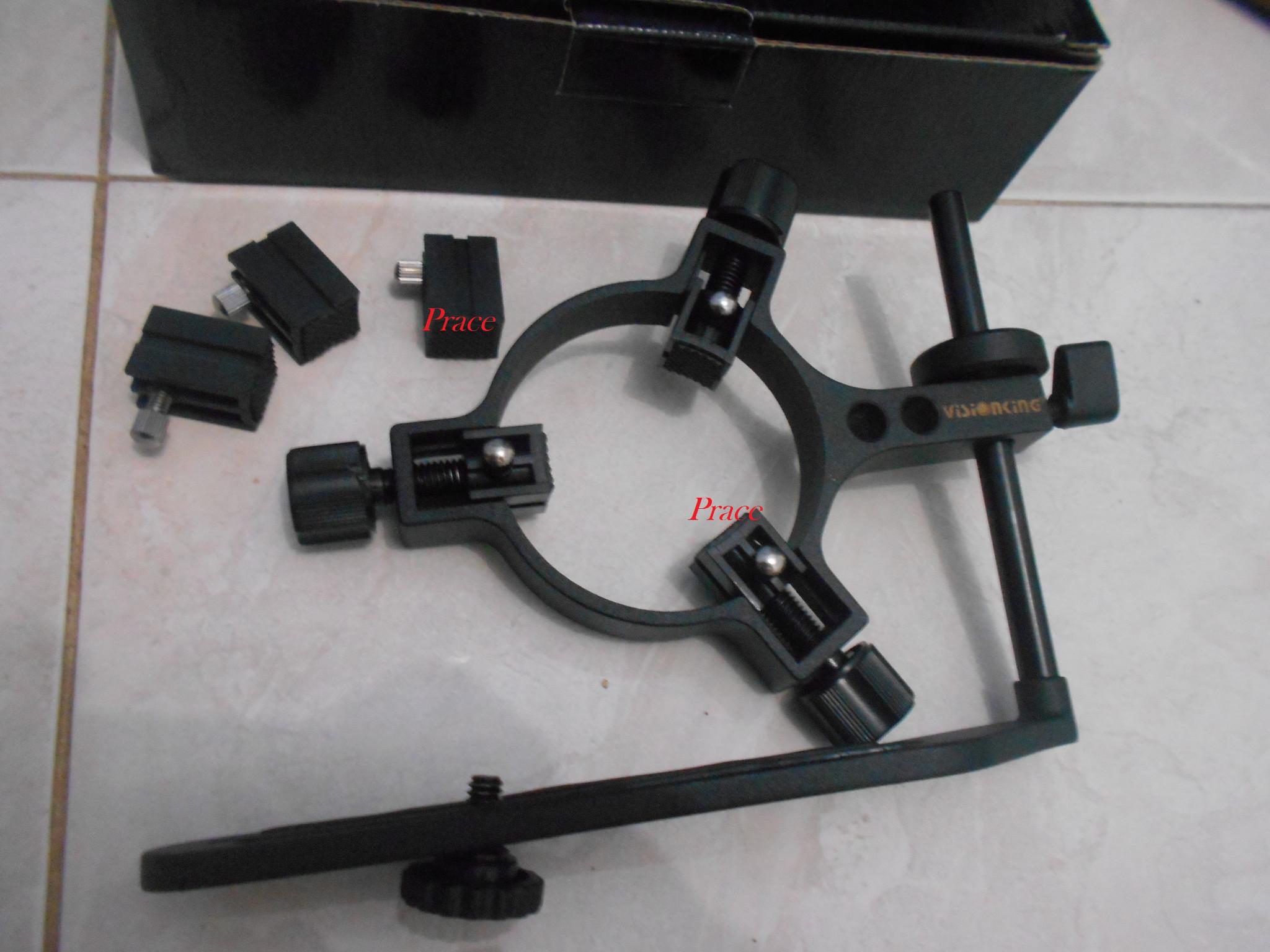 Sepenuhnya logam teleskop kamera adapter smartphone adapter dengan