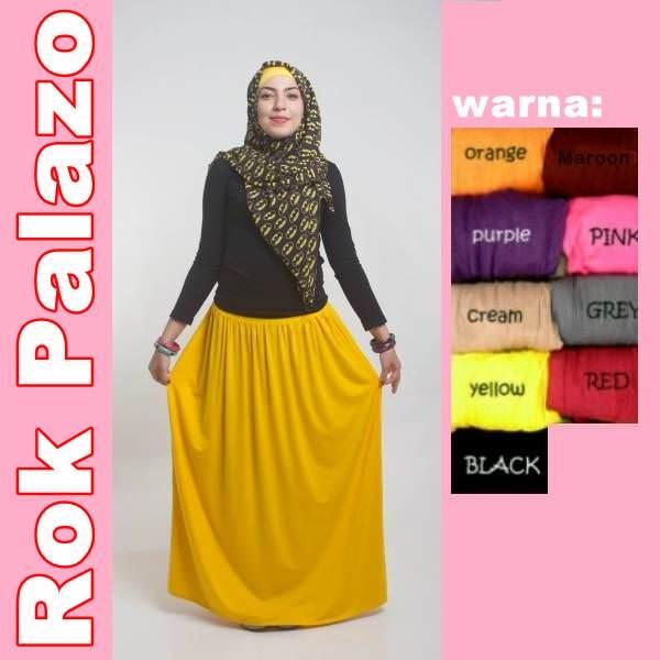 Hijab Fashion Murah : Rok Palazo