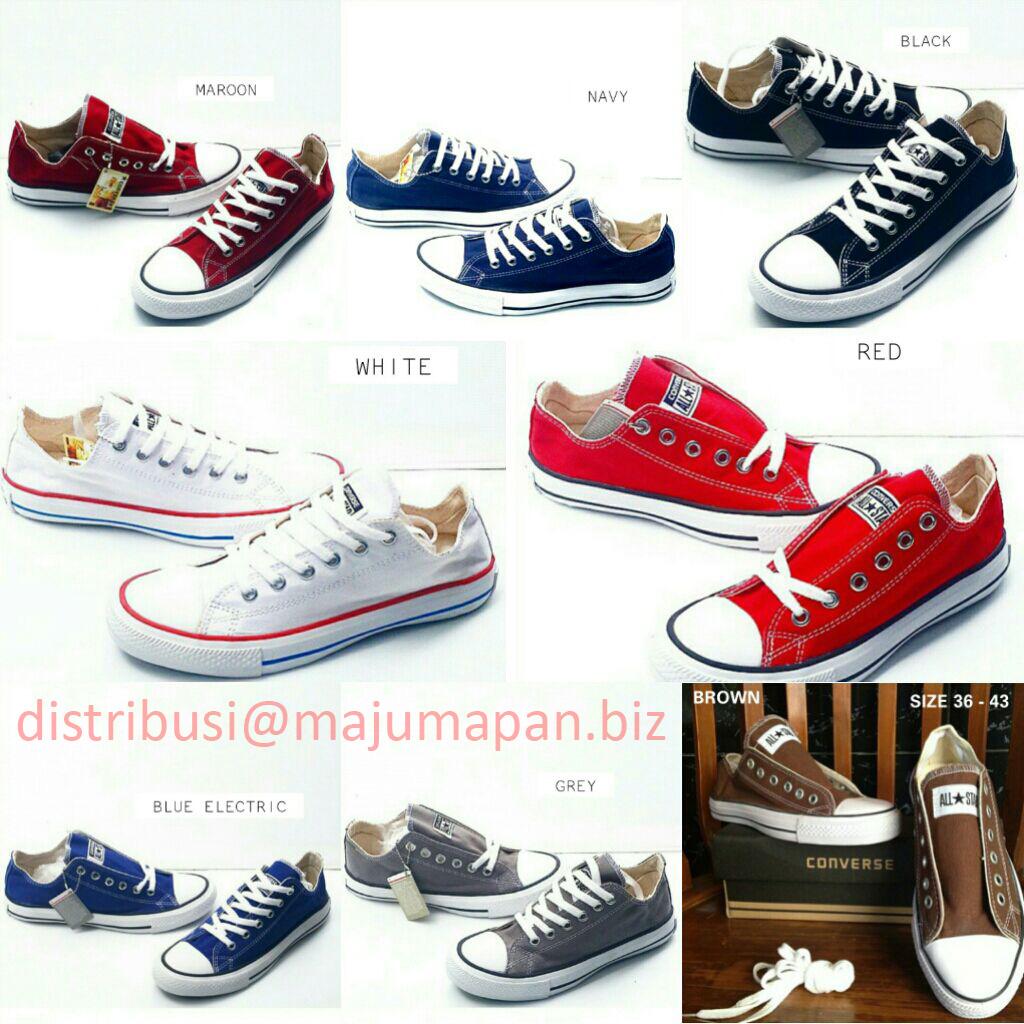 Jual Converse All Star Sepatu Kets Flast shoes Pria Wanita Unisex ... 12e0dc96a9