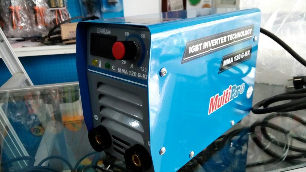 Mesin Las inverter Multipro IGBT MMA 120 GKR