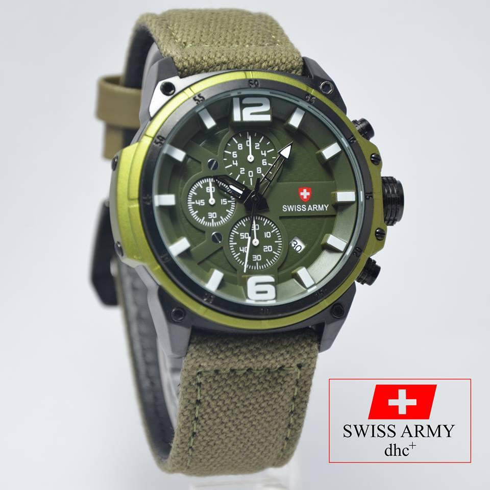 Jual Swiss Army SA 4122 Hijau Kanvas Master Jam Tokopedia Source · Swiss Army Original High
