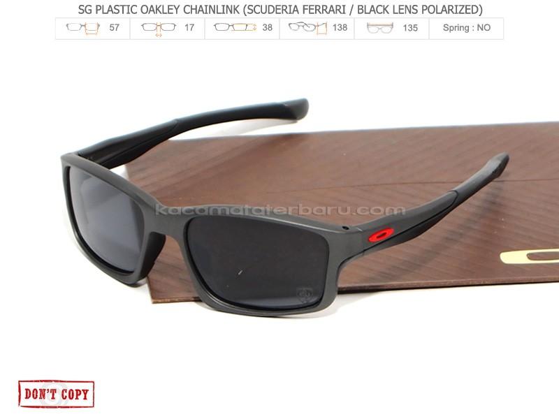 Jual Sunglasses Oakley CHAINLINK SCUDERIA FERRARI-BLACK ... 3668cd682a