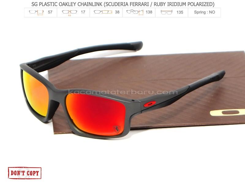 ... terbaru fa96f 538bb  netherlands jual sunglasses oakley chainlink  scuderia ferrari ruby lens bemfashion tokopedia e8e59 d0b7f 56379f8fda