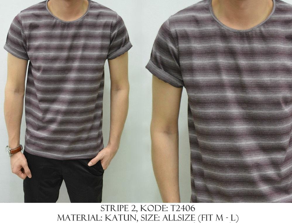 Baju Distro & Baju Kemeja Stripe 2