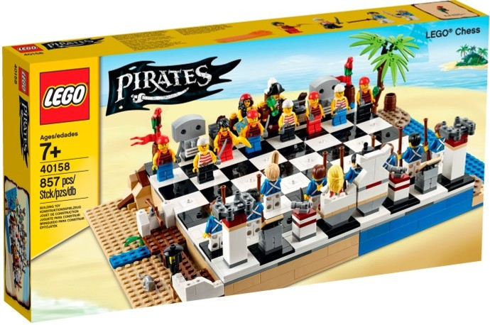 LEGO # 40158 PIRATES CHESS