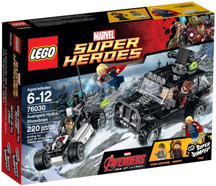 LEGO # 76030 SUPER HEROES Avengers Hydra Showdown