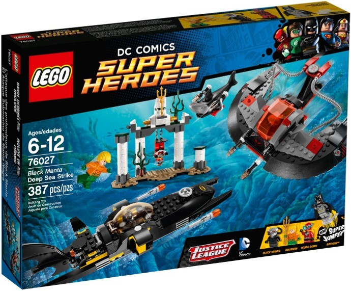 LEGO # 76027 SUPER HEROES Black Manta Deep Sea Strike