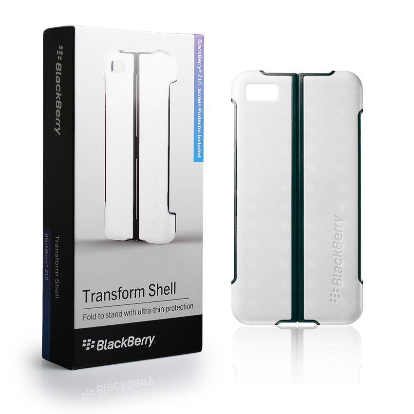 Blackberry Z10 TRANSFOEM SHELL ORIGINAL - White
