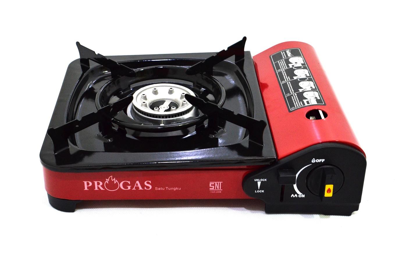 jual progas kompor portable 2 in 1 gas kaleng elpiji 3 kg