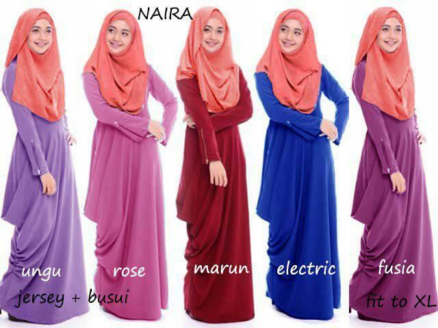 maxi naira hijab b