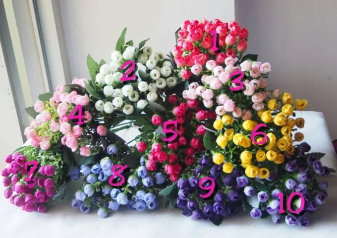 Jual Bunga artificial mini rose (bunga saja tanpa vas) - Lucca ... 489f114c2f