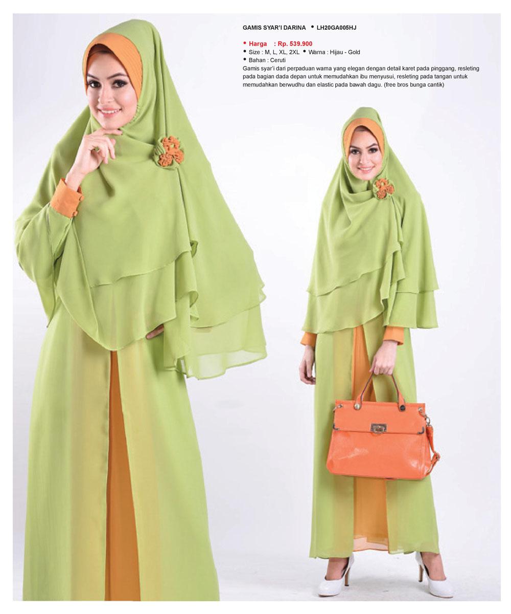Jual Baju Gamis Muslimah Syar 39 I Darina Butik Baju Muslim