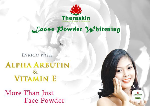 THERASKIN LOOSE POWDER WHITENING