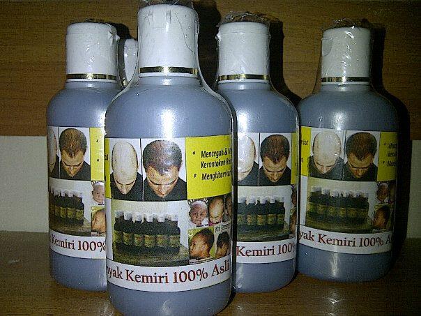jual *best seller* minyak kemiri original penumbuh/pemanjang rambut Gambar Minyak Kemiri Untuk Rambut