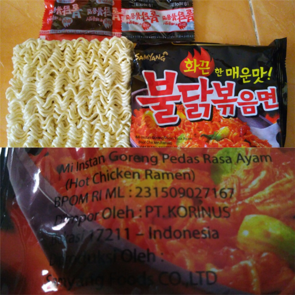 Jual Samyang Ramen Mie Goreng Super HOT!!!! - Rizashop94