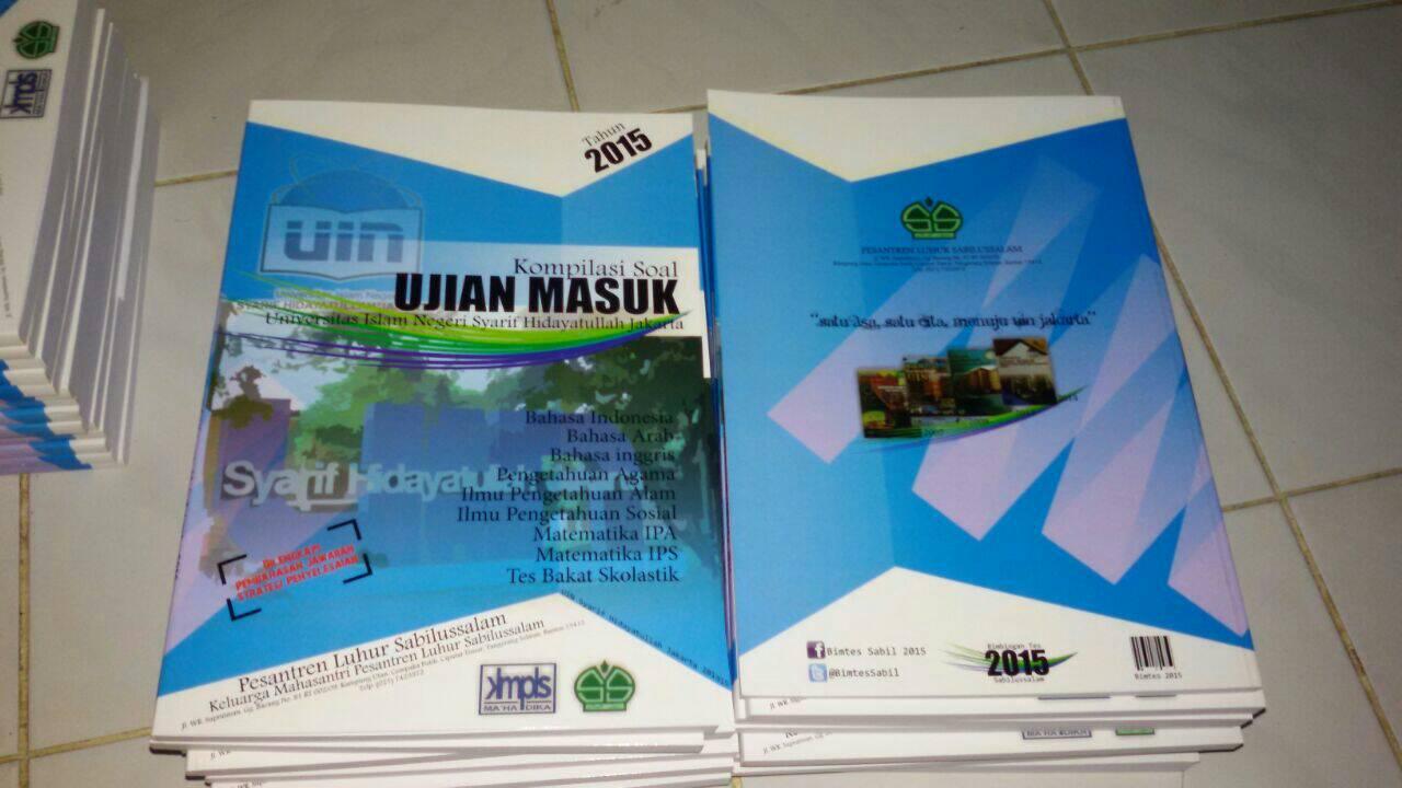 Jual Buku Kompilasi Soal Ujian Spmb Mandiri Uin Jakarta 2015 De Moon Corner Tokopedia