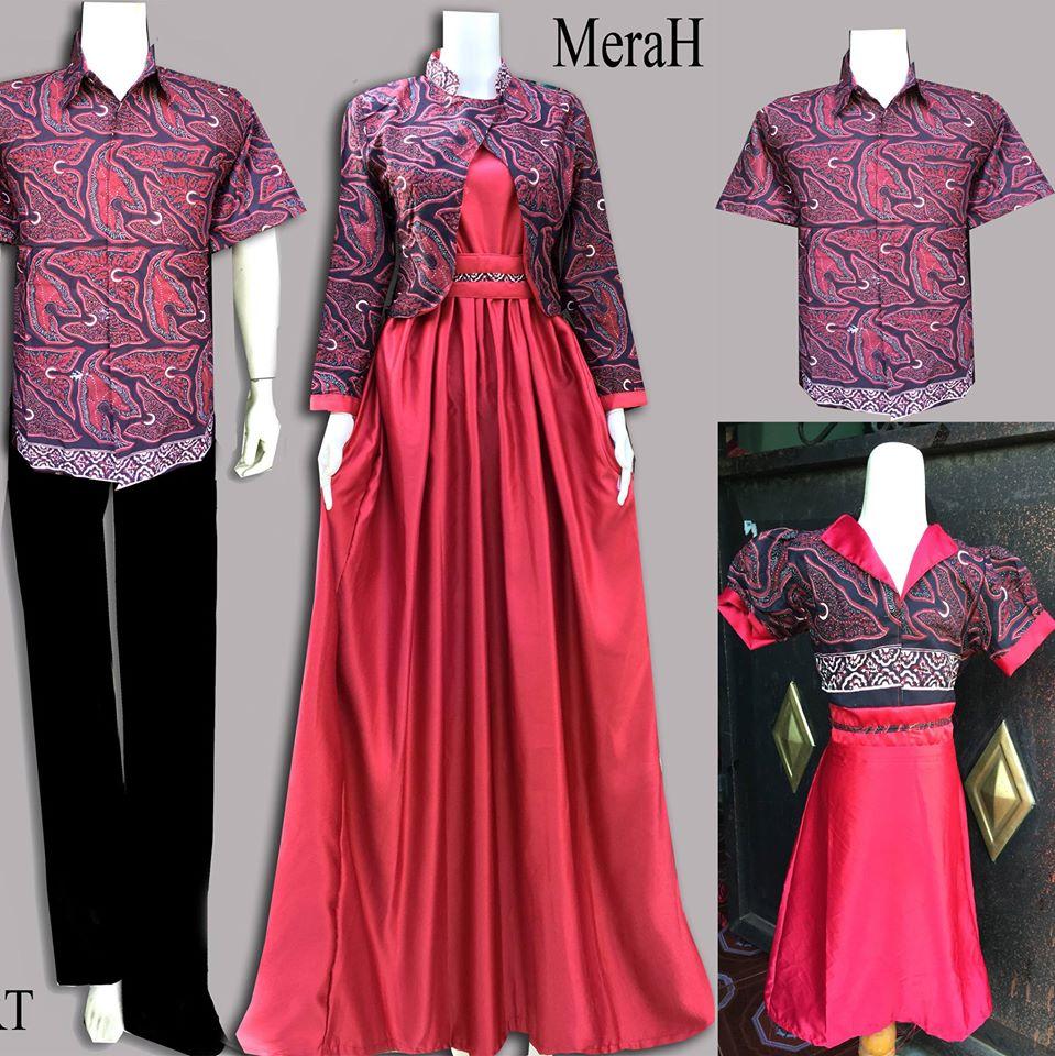 Jual Batik Keluarga Batik Sarimbit Keluarga Batik