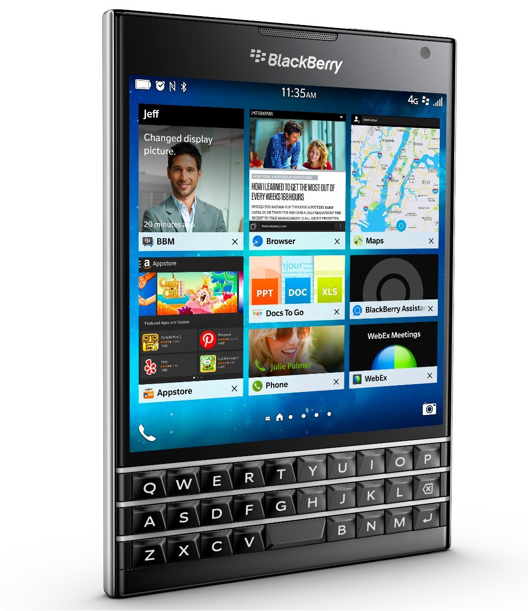 BlackBerry Passport - Q100