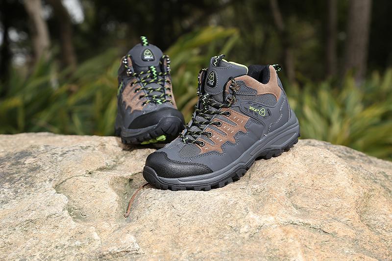 Jual Sepatu Gunung Trekking Hiking Adventure SNTA 462 Grey