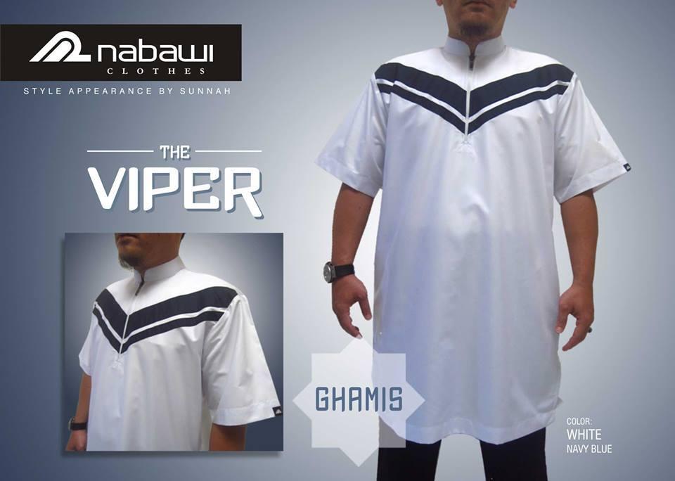 Jual Gamis Pakistan Lengan Pendek Nabawi Clothes The Viper