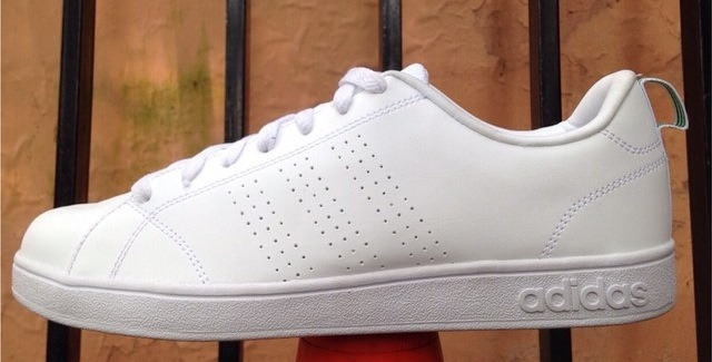 adidas neo all white