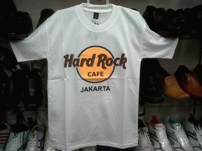 Kaos Hard Rock Cafe Jakarta