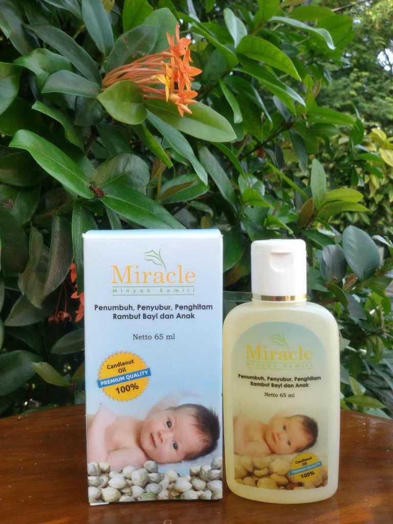 jual penyubur penumbuh melebatkan rambut bayi herbal tanpa bahan Gambar Minyak Kemiri Miracle