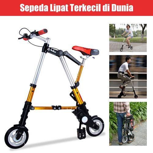 Jual Sepeda Lipat Super Kecil - MOSI 19   Tokopedia