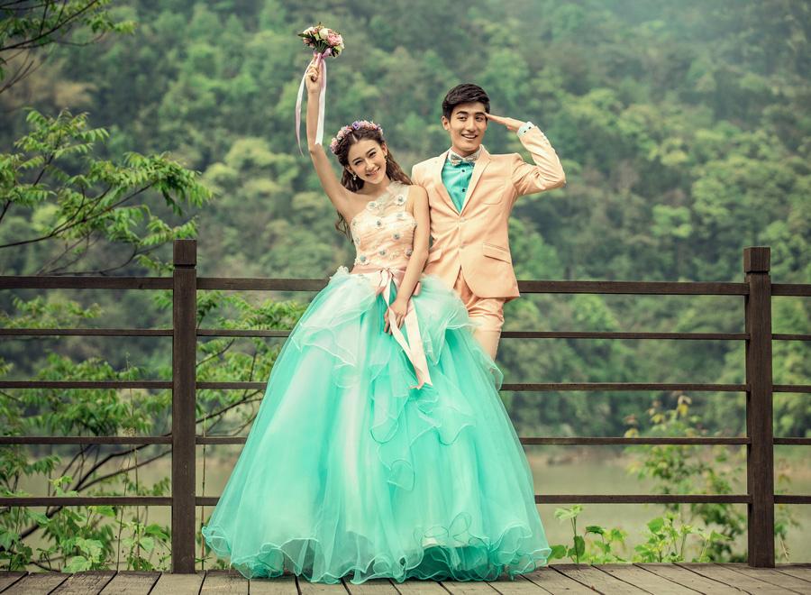 Dress Untuk Pre Wedding
