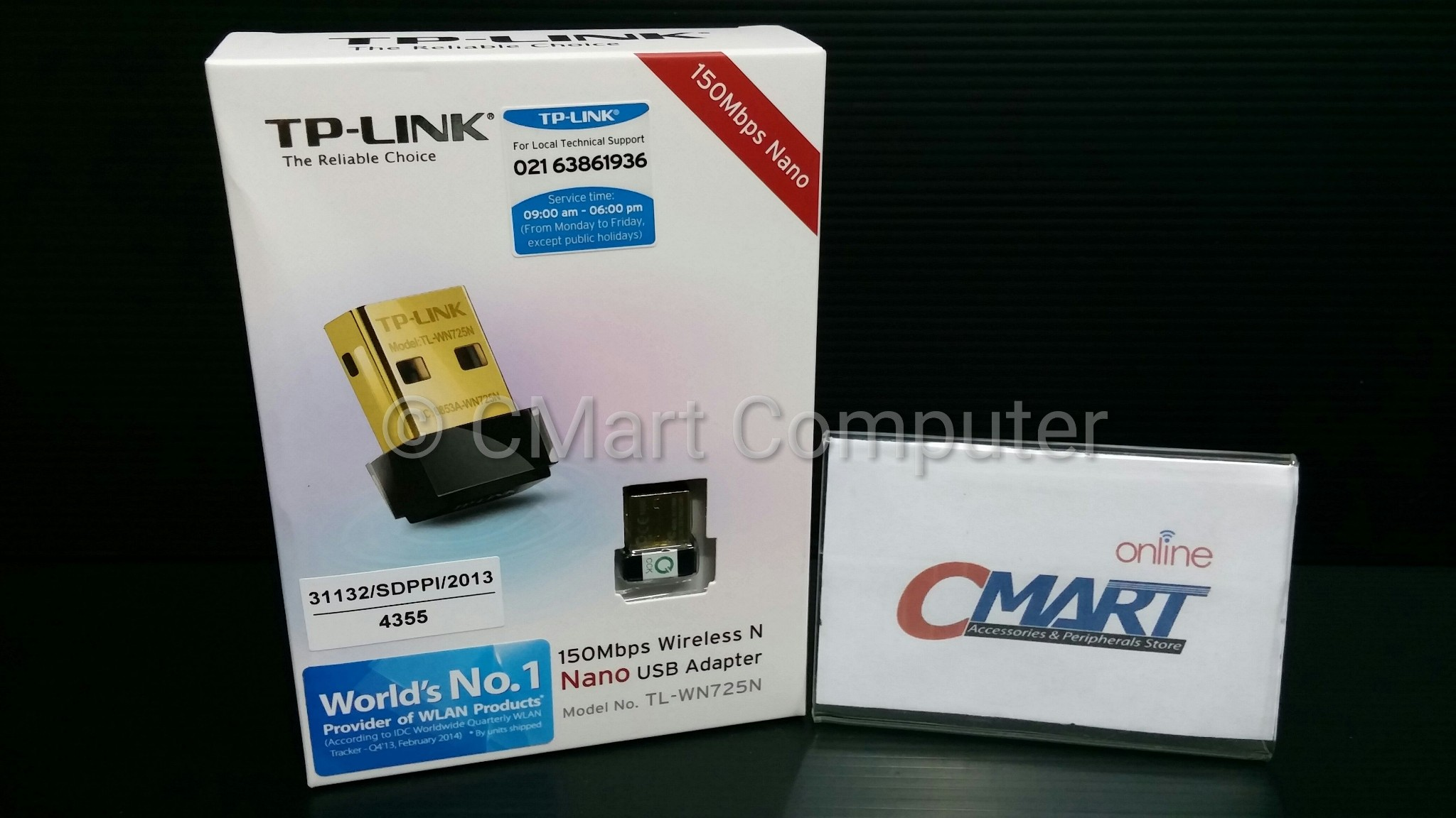 Jual Tp Link Tl Wn725n 150mbps Wireless N Nano Usb Adapter Cmart Wifi Computer Tokopedia