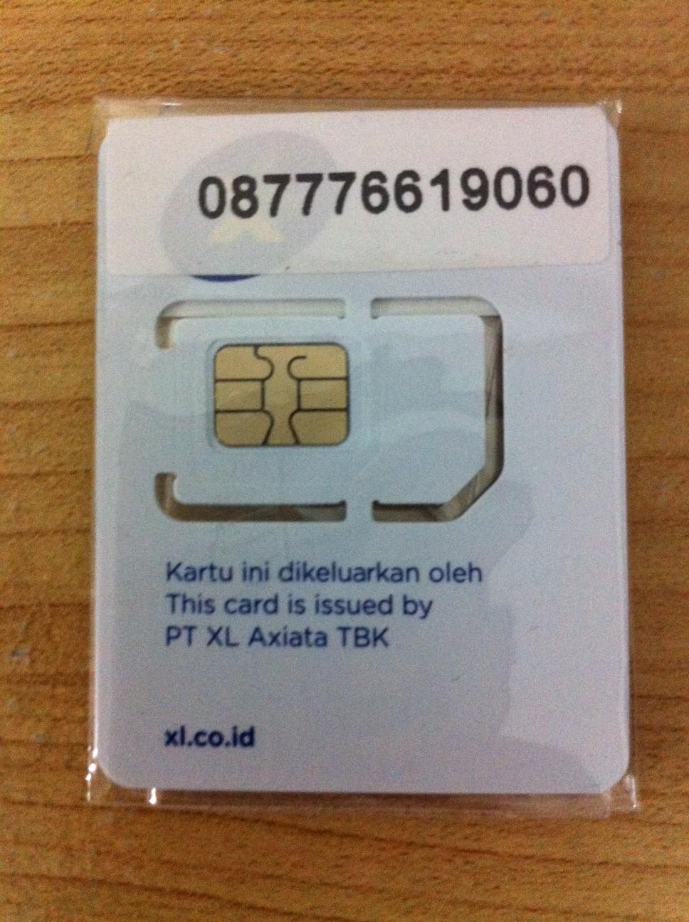 Jual Perdana Xl 4g Cantik Micro Sim Card Rp 35000 Circle Se7en Kartu Axiata Tokopedia