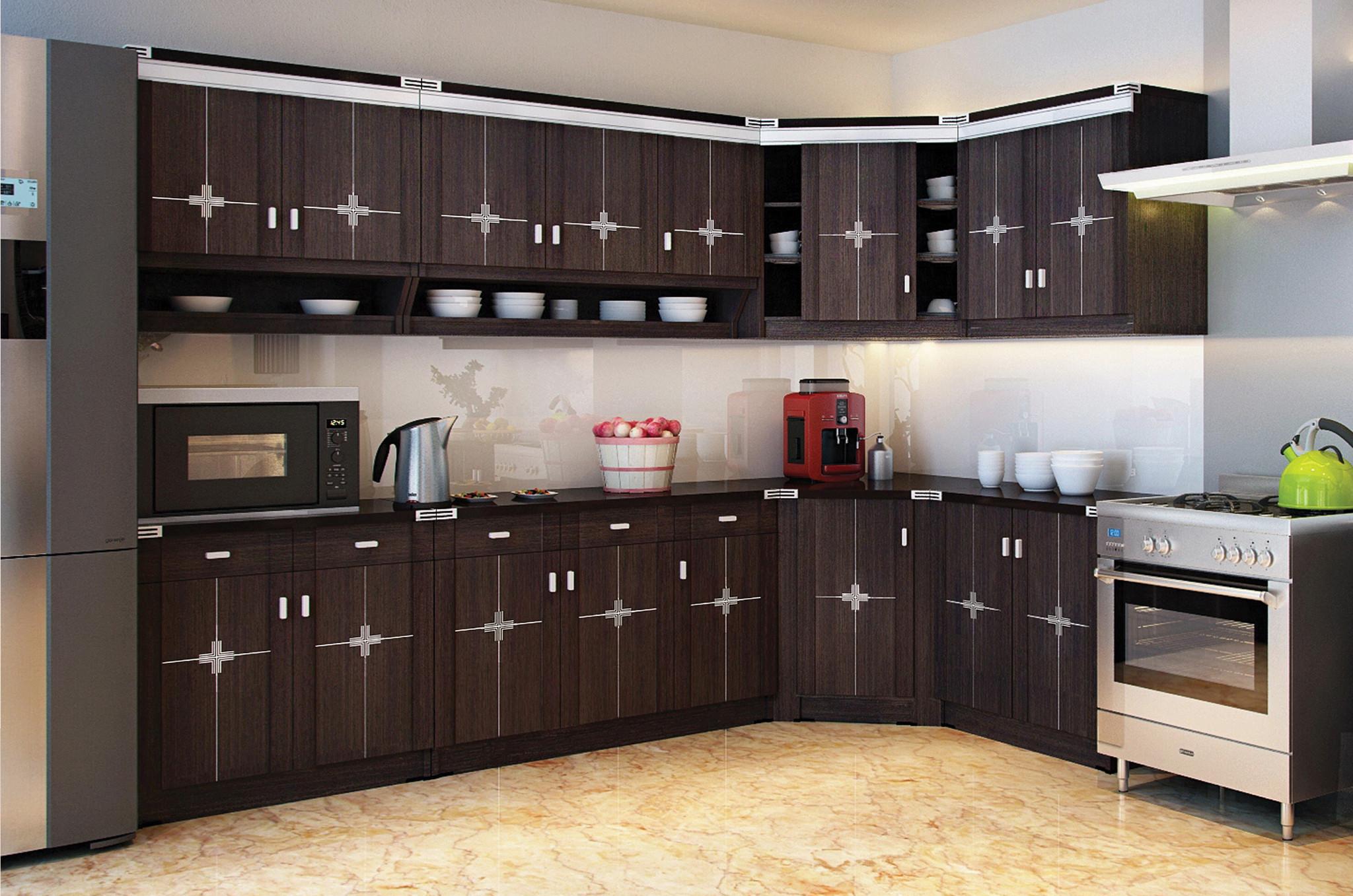 Harga kitchen set lemari dapur 3 meter di jakarta barat for Biaya kitchen set per meter