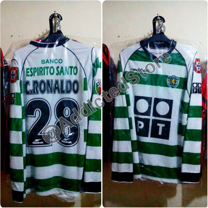 finest selection a7b6b 6927d ronaldo sporting jersey