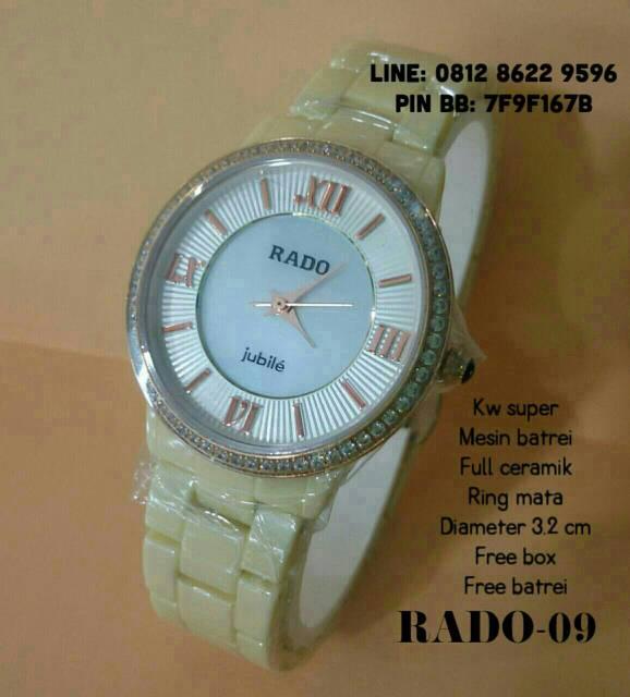 harga JAM TANGAN RADO-09 FULL CERAMIK FOR LADIES(GUCCI,GUESS,BONIA) Tokopedia.com