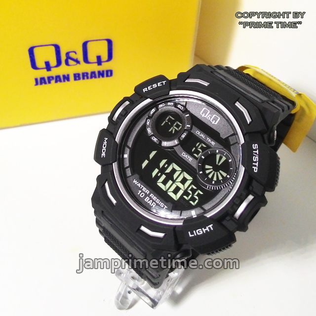 Jam Tangan 5 11 Black Hitam jual jam tangan qq q q m148 hitam black original