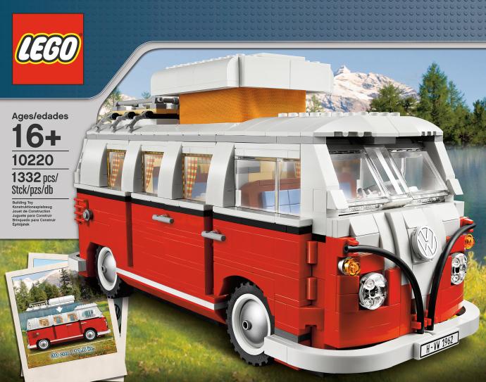 LEGO # 10220 ERXCLUSIVE - CREATOR VM CAMPER T1