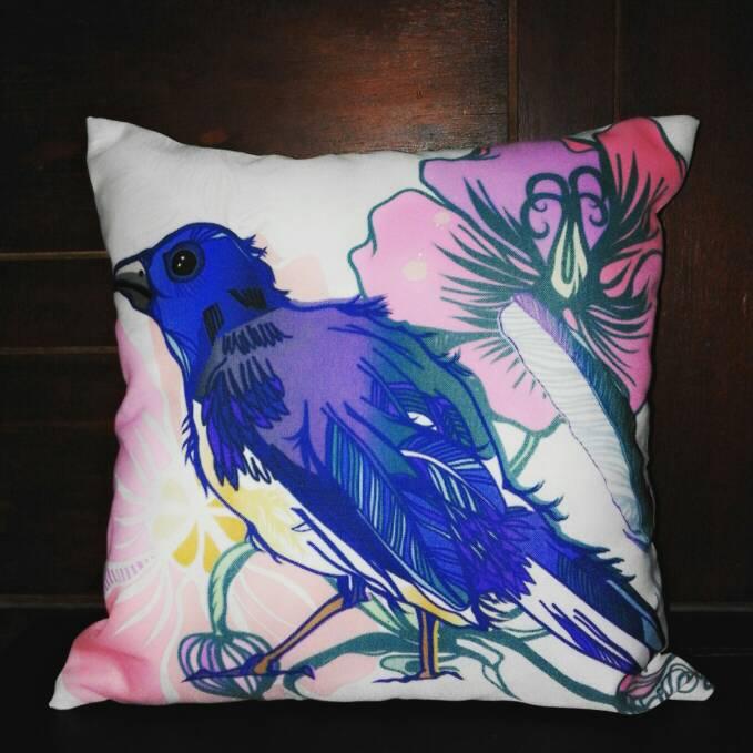 jual bantal sofa pop art motif lucu living in colors. Black Bedroom Furniture Sets. Home Design Ideas