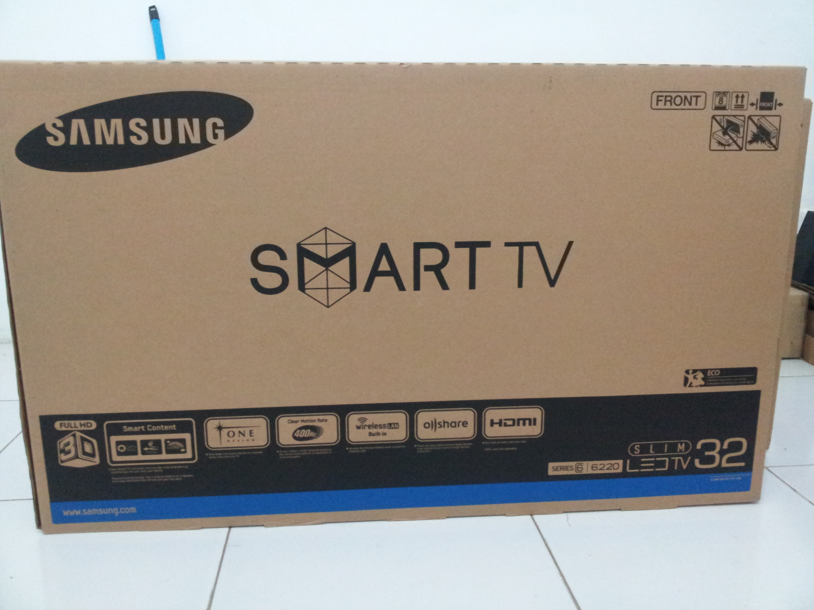 Jual Tv Led Samsung Ua32es6220 3d 32 Inch Afryana Shop Tokopedia