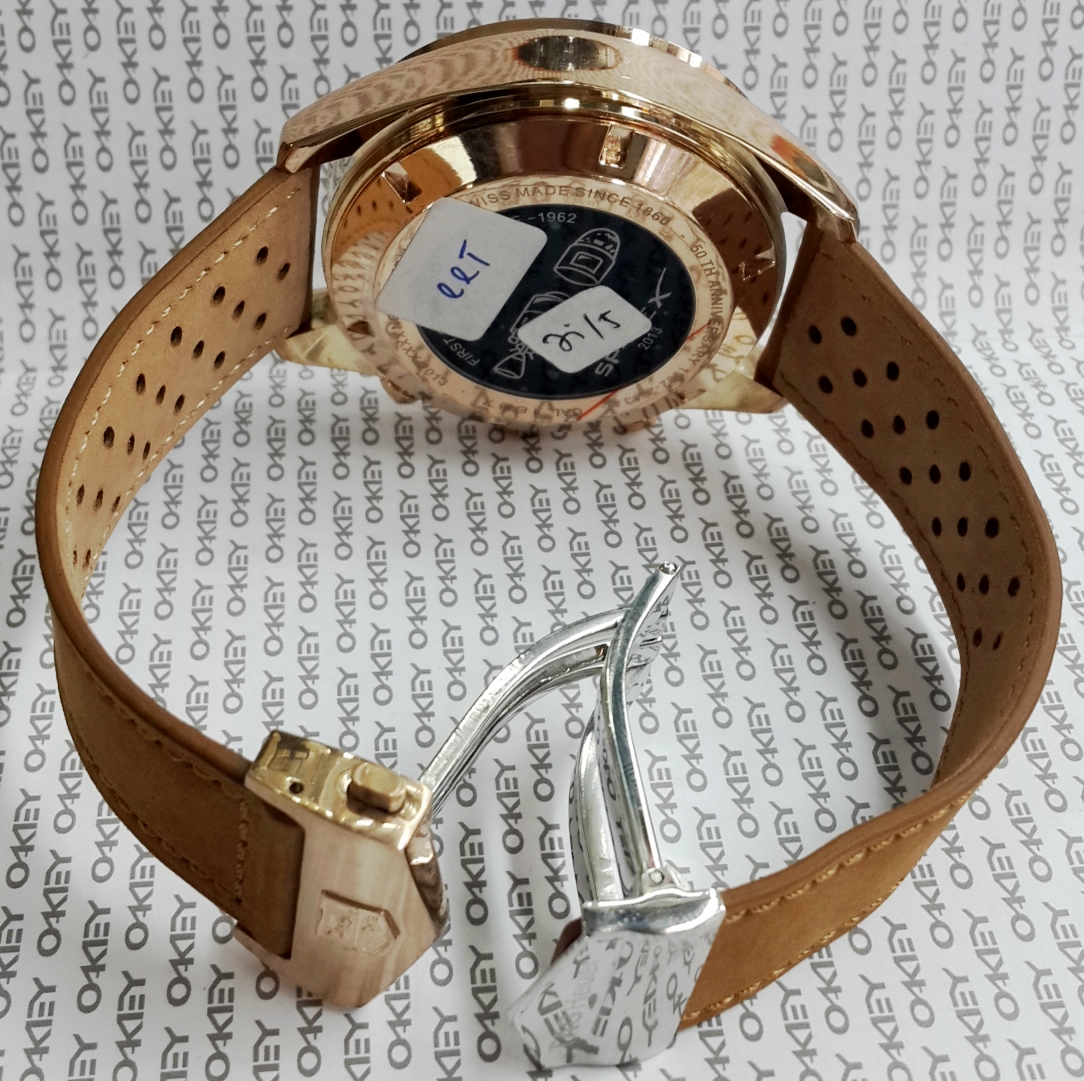 Jam Tag Heuer Space X Leather