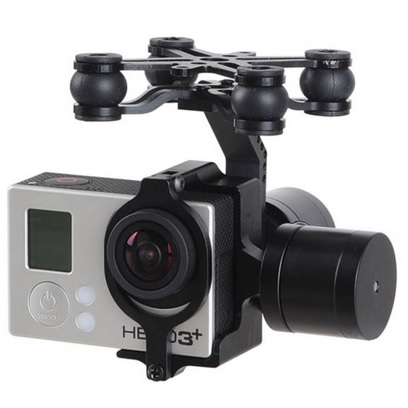 DJI GL2X Axis Phantom Professional Alumnium Camera Mount GoPro Hero