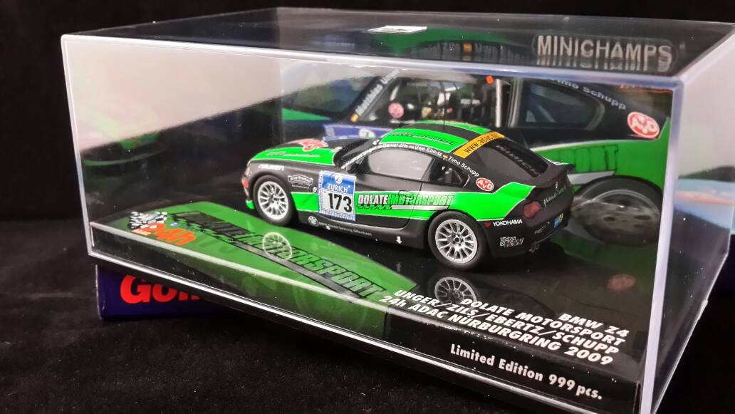 Jual Minichamps Evolution 1 43 Bmw Z4 24h Adac Nurburgring
