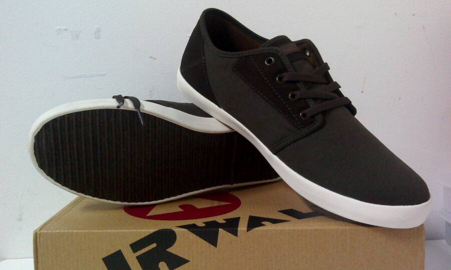Jual Airwalk Original Casual ( Dark Brown ) - Rainbow Sport  209633178a79