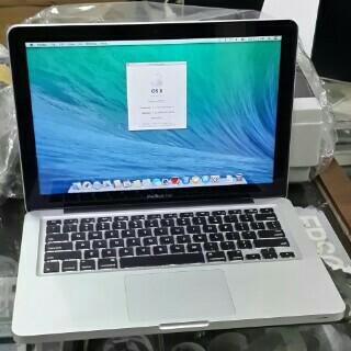 """APPLE MACBOOK PRO MD101 I5 2.5GHZ RAM 4GB HDD 500GB LAYAR 13"""" SECOND"""