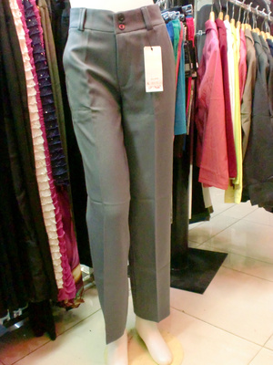 Jual Celana Bahan Kantor Kerja Formal Wanita Cewek Basic
