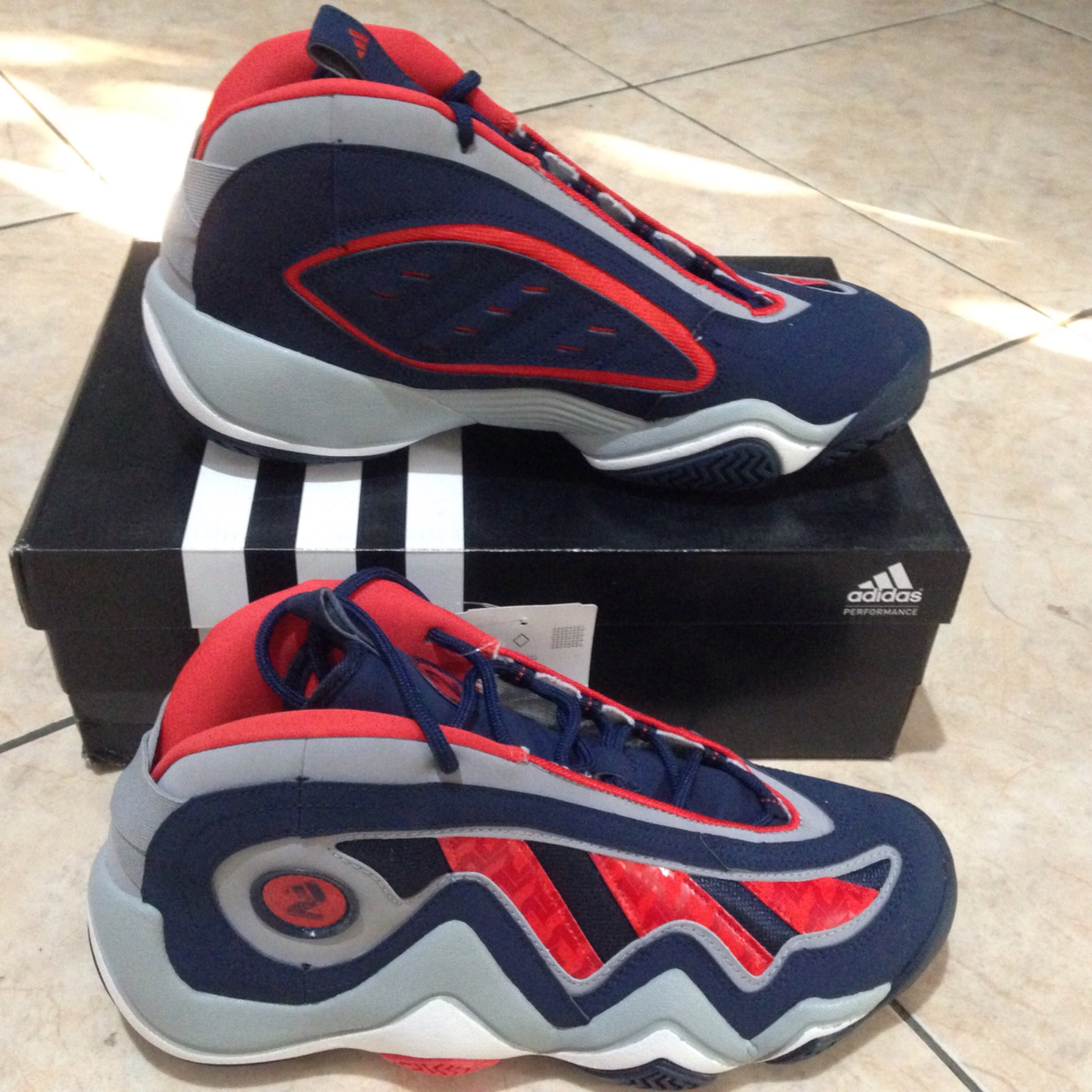 Jual Adidas Crazy 97 John Wall Size 46. Sepatu Basket - Sportsite ... 5badcfa48e