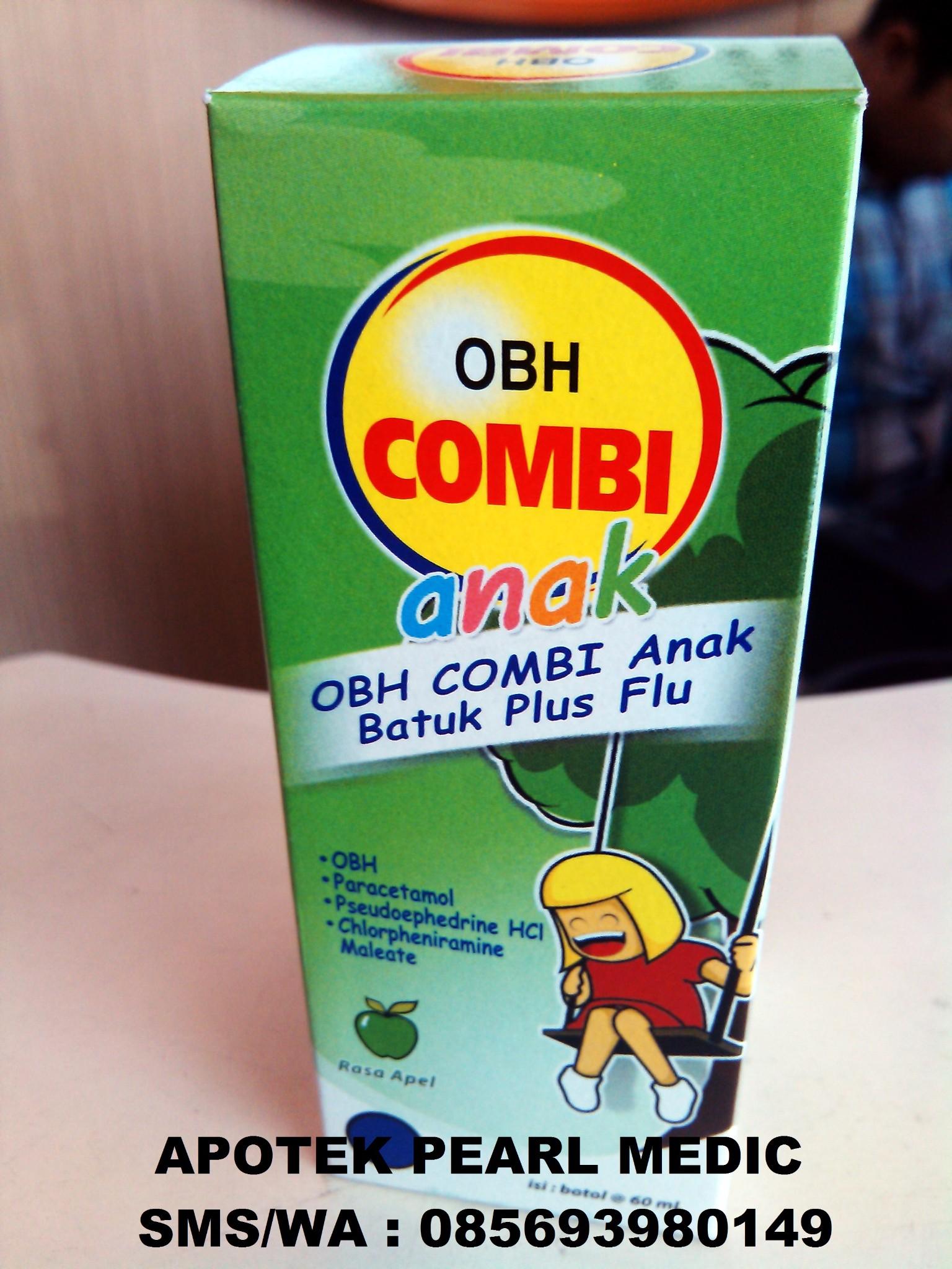 Jual Obh Combi Anak Rasa Apel 60 Ml Pearl Medic Tokopedia Plus