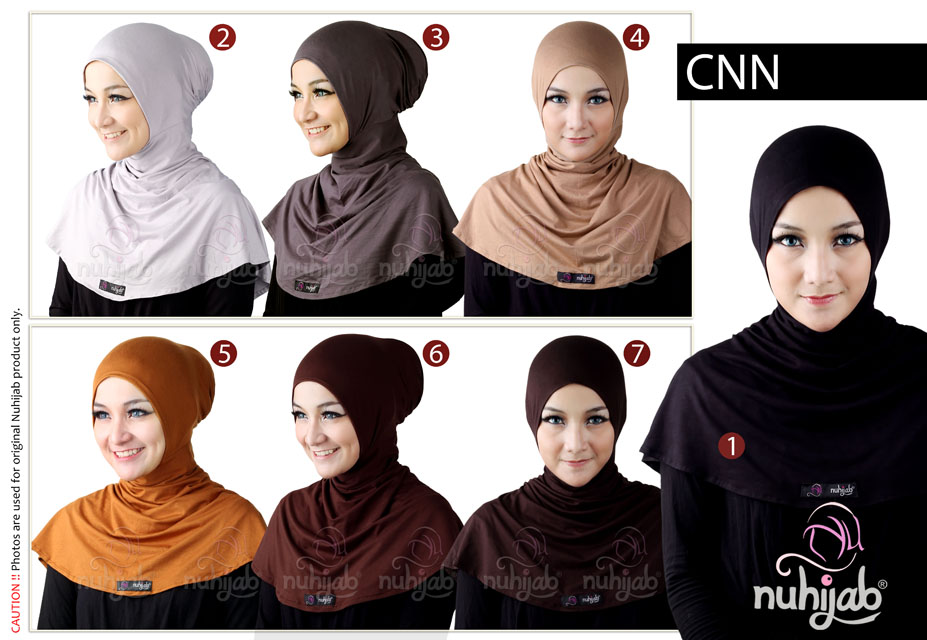 Nuhijab Ciput Ninja - Ciput Spandex Rayon - Jual Hijab & Baju Muslim