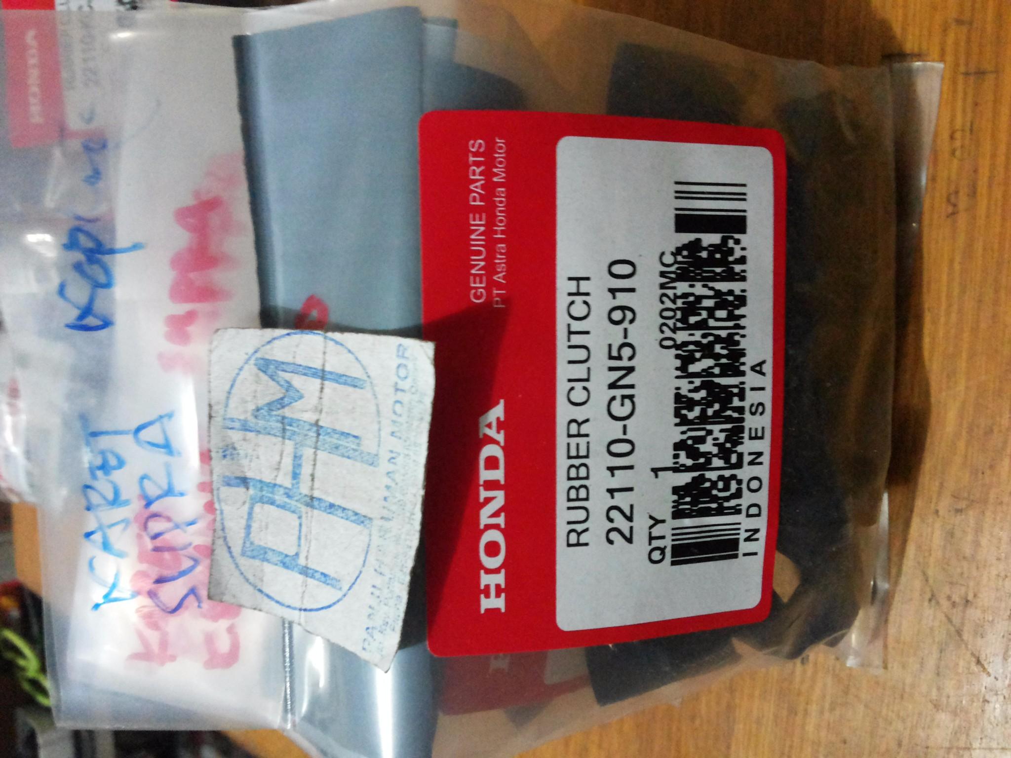 harga Karet Kopling Supra Honda Tokopedia.com