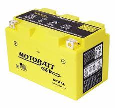 AKI GEL MOTOBATT MTX7A (NINJA 250, KLX250, ALL MINERVA, KYMCO, PULSAR)